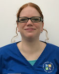Katie Tipping, vet at Birch Heath Veterinary Clinic