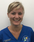 Leanne Roberts, vet at Birch Heath Veterinary Clinic